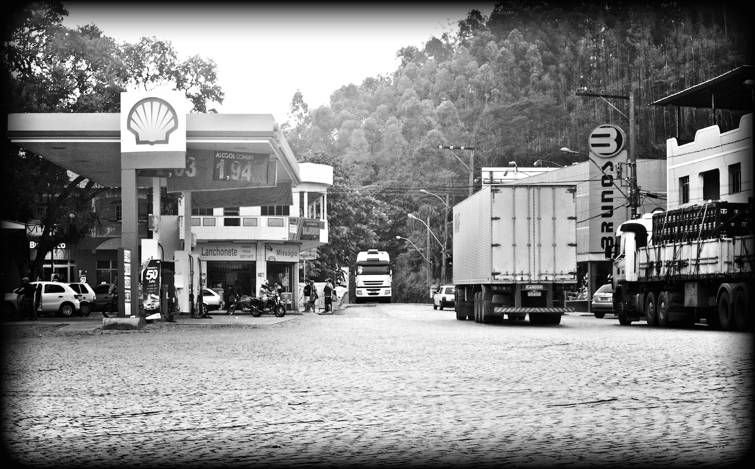 The center of Iconha, trucking capital of Brazil
